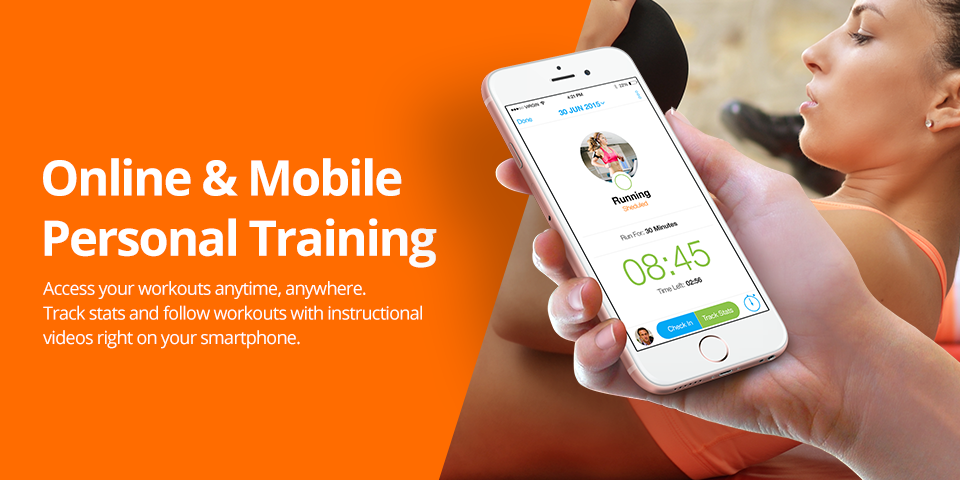 Online and mobile personal training